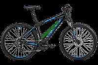 """Bergamont  27,5"""" Roxter 3.0 C2 2017 год (44,5 см, черный-синий)"""