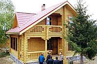 Дома и бани со сруба в Харькове и обл.