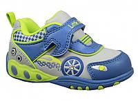 Детские кроссовки с мигалками для мальчиков B&G р. 22-24 модель LD1115-1405, фото 1