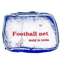 Сетка футбольная безузловая D=3mm, ячейка: 7*7;  рр: 7,3*2,44m FN-06-11