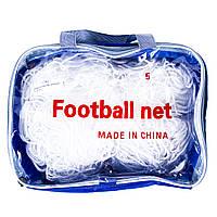 Сетка футбольная безузловая D=3mm, ячейка: 7*7;  рр: 5*3m FN-04-5