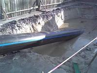 Трубы полиэтиленовые для напорной канализации
