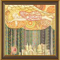 Набор для вышивания бисером Новая Слобода НК-1145 Цветные сны