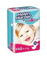 Подгузники Helen Harper Soft   Dry midi (4-9кг) 56шт