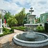 Фонтан для сада Венский с бассейном