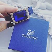 Браслет Swarovski diamond blue