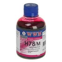 Чернила WWM для HP CB316HE/321HE (Magenta) H78/M 200г