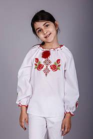Вышитая блуза для девочки с уникальным орнаментом