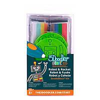 Набор аксессуаров 3Doodler Start для 3D-ручки Ракета 3DS-DBK-RO ТМ: 3Doodler Start