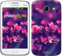 "Чехол на Samsung Galaxy Core i8262 Пурпурные цветы ""2719c-88"""