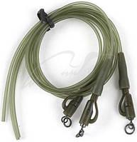 Противозакручиватель Fox. Camo Tubing with Safety Clips x 3 - Green ц:зеленый