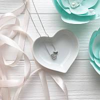 Подвеска Два сердца