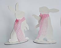 Пасхальный кролик большой деревянный, фото 1