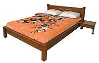 Кровать из дерева без изножья Гармония ТеМП 80×190