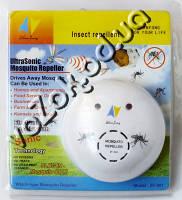 Ультразвуковой отпугиватель комаров и насекомых UltraSonic Mosquito Repeller ZF-801 от сети 220В, фото 1