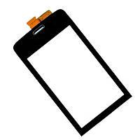 Сенсор (Touch screen) Nokia 311 Asha черный оригинал
