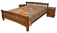 Кровать из дерева с решетчатым изголовьем Верона ТеМП 80×190