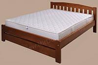 Кровать деревянная на ламелях Альфа-4 ТеМП 80×190