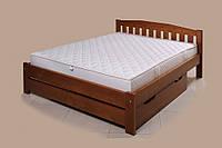 Кровать с выдвижным ящиком Альфа-4 ТеМП 80×190