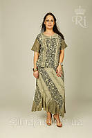 Костюм летний женский короткий рукав большие размеры индия