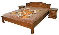 Кровать из ольхи без изножья Лагуна-2 ТеМП 80×190