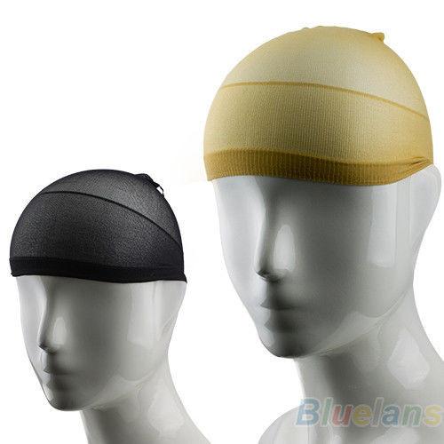 шапочка под парик черная бежевая