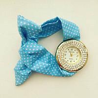 Часы галстук в крапинку