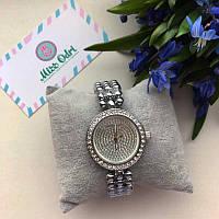 Часы МК серебро с камнями