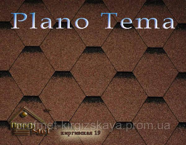 Битумная черепица ICOPAL Plano Tema