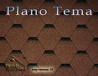 Битумная черепица ICOPAL Plano Tema, фото 1