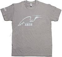Футболка с логотипом ИБИС. Размер - Цвет - серый