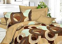 Комплект постельного белья двуспальный сатин, 100% хлопок. (арт.7007)