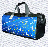 Спортивная сумка-бочёнок среднего размера