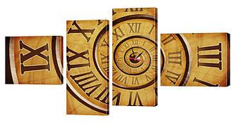 Часы-модульная картина 240 (196x105 см)