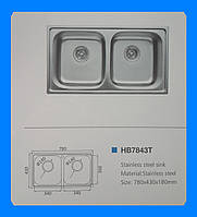 Кухонная мойка Haiba HB7843T