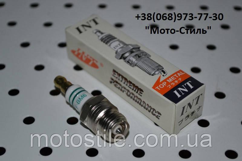 """Свеча зажигания """"INT"""" F-BM6 (под конус) для бензокос и бензопил"""