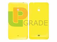 Задняя крышка Nokia 1320 Lumia желтая оригинал