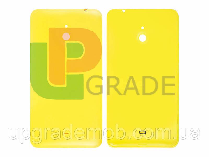Задняя крышка Nokia 1320 Lumia, желтая, оригинал