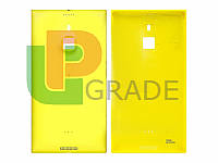 Задняя крышка Nokia 1520 Lumia (RM-938), желтая, оригинал (Китай)