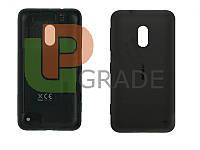 Задняя крышка Nokia 620 Lumia, черная, оригинал (Китай)