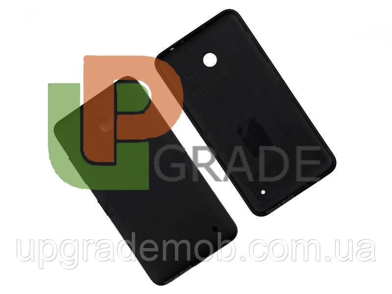 Задняя крышка Nokia 630 Lumia Dual Sim/635, черная, оригинал