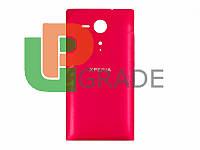 Задняя крышка Sony C5302 Xperia SP M35h/C5303, красная, оригинал (Китай)