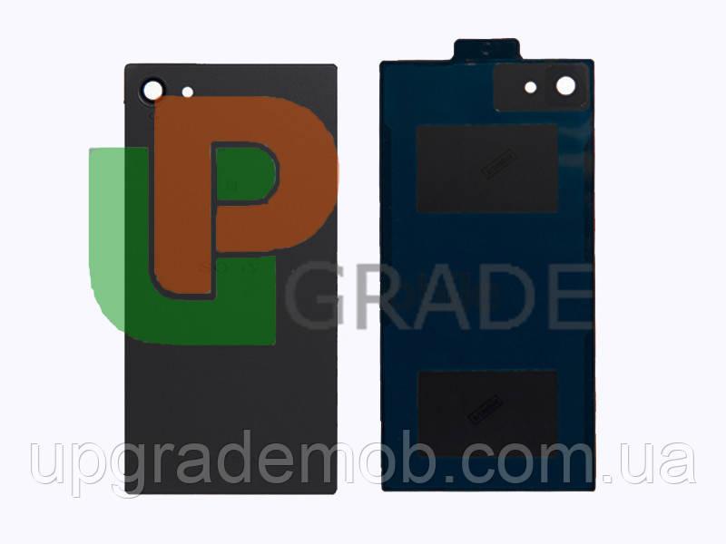 Задняя крышка Sony E5803 Xperia Z5 Compact/E5823, серая, Graphite Black, оригинал