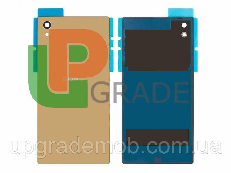 Задняя крышка Sony E6603 Xperia Z5/E6633/E6653/E6683, золотистая, оригинал