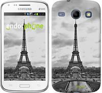 "Чехол на Samsung Galaxy Core i8262 Чёрно-белая Эйфелева башня ""842c-88"""