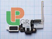 Шлейф для Samsung G850F Galaxy Alpha, с кнопками регулировки громкости, с разъемом наушников, с динамиком, с микрофоном
