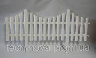 Заборчик декоративный КАНТРИ белый (4 секции)