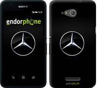 "Чехол на Sony Xperia E4g Mercedes Benz 1 ""974u-326"""