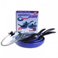 Набор  сковородок Spider Pan (Спайдер  пен) с  антипригарным  покрытием