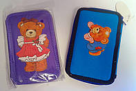 Пенал Двойной Мишки 53119-ТК 75439+ Tiki Китай
